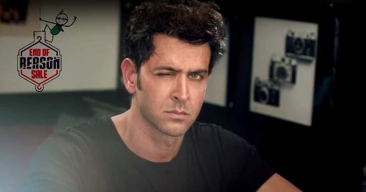 Myntra EORS campaign Hrithik Roshan