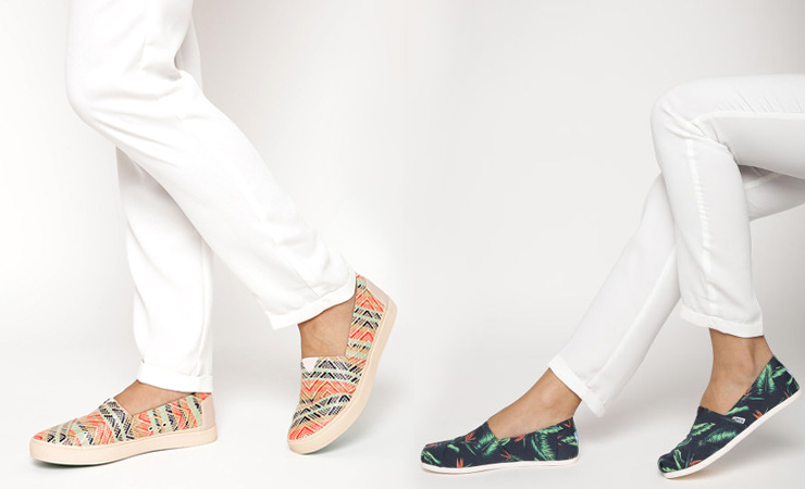 TOMS on Myntra