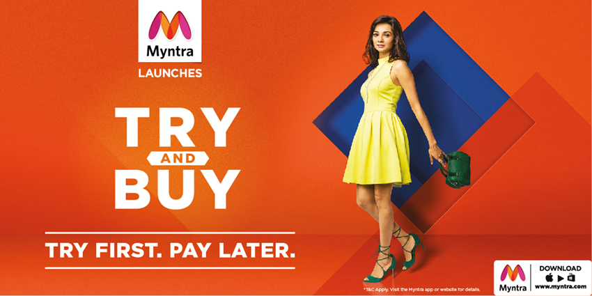 Myntra Try and Buy