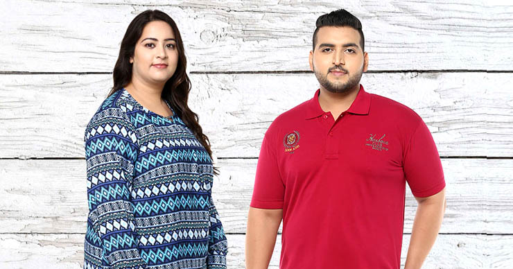 Plus Size Clothing on Myntra