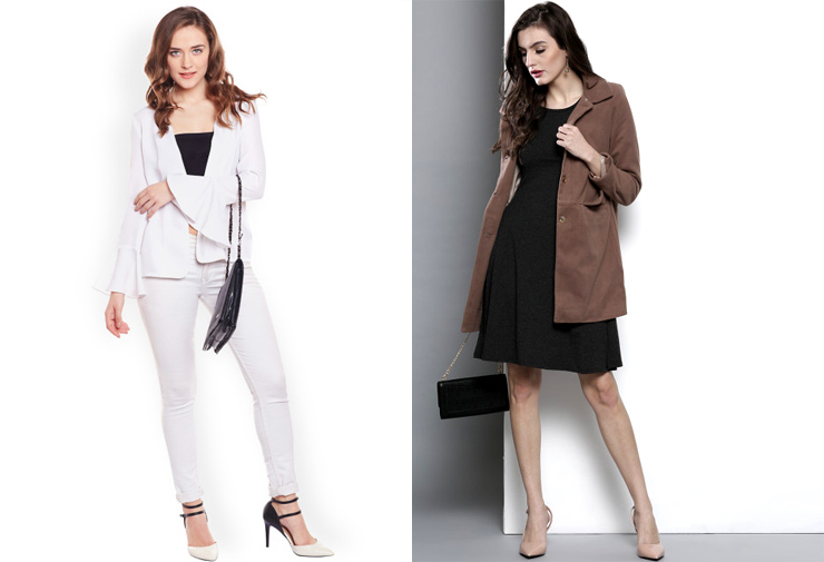 Office wear classy formal Myntra