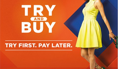 Myntra try and buy feature
