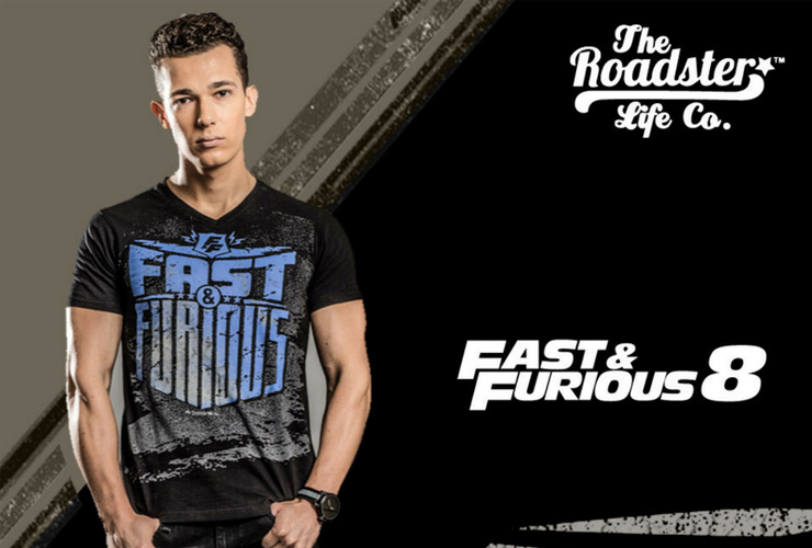Roadster partners Fast & Furious 8
