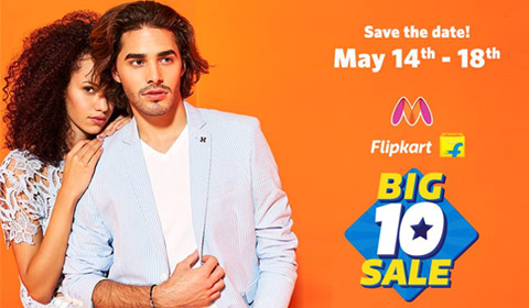 Myntra Big 10 Sale