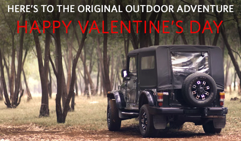 Happy valentine's day Roadster campaign